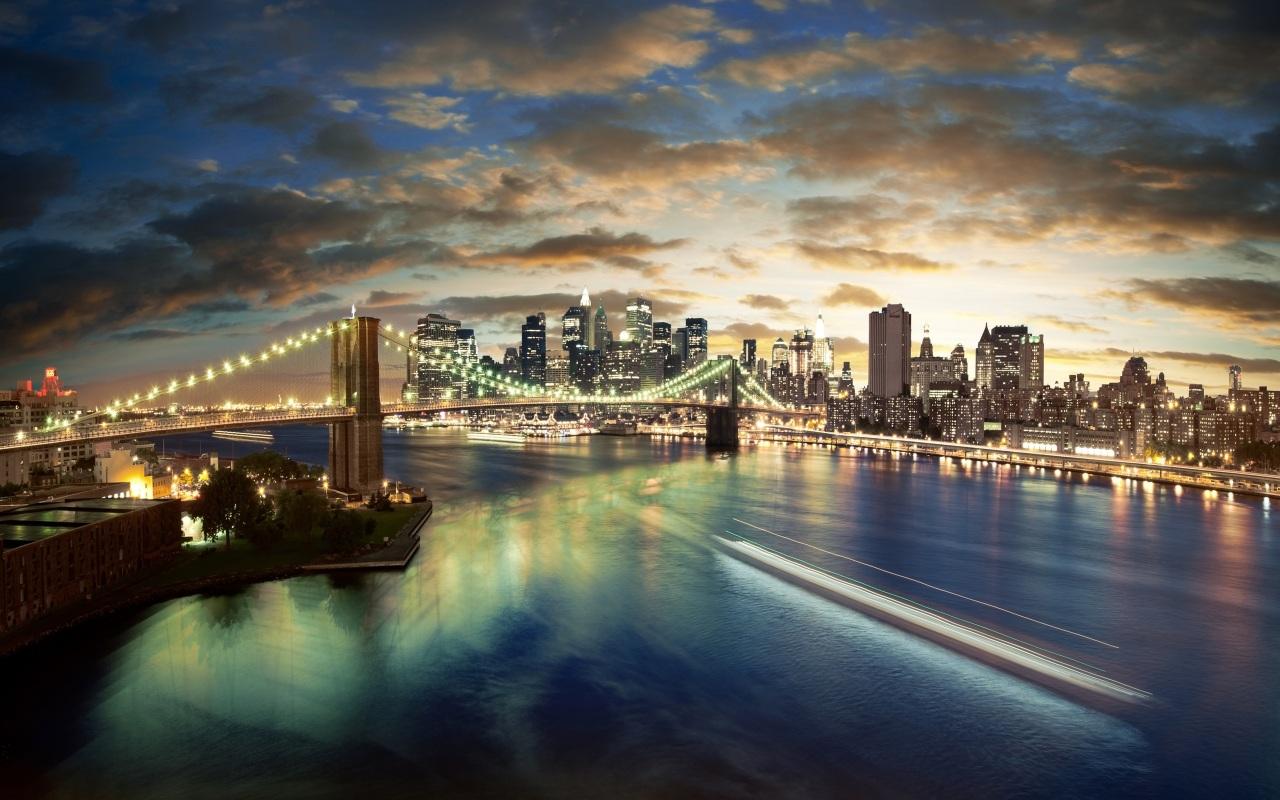 Cầu Brooklyn tuyệt đẹp tại New York