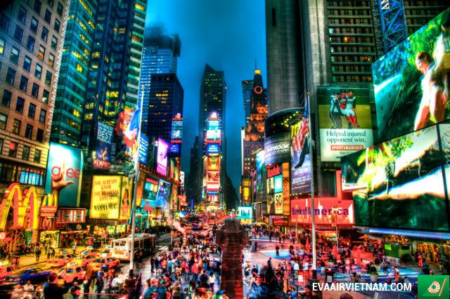 Vé máy bay đi New York, Mỹ giá rẻ nhất