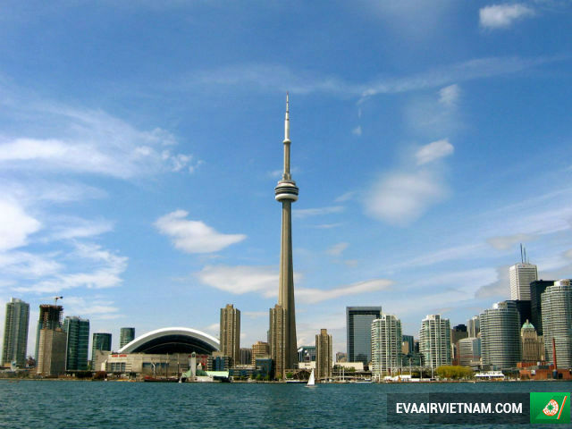 ve may bay di toronto gia re