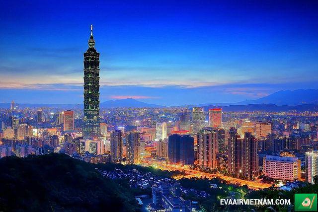 Vé máy bay từ Hà Nội đi Đài Bắc hãng EVA Air