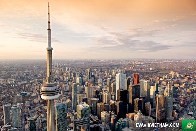 Đặt mua vé máy bay từ TP.HCM đi Toronto tại Vietnam Booking