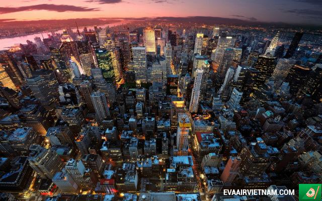 Đặt mua vé máy bay đi New York, Mỹ giá rẻ