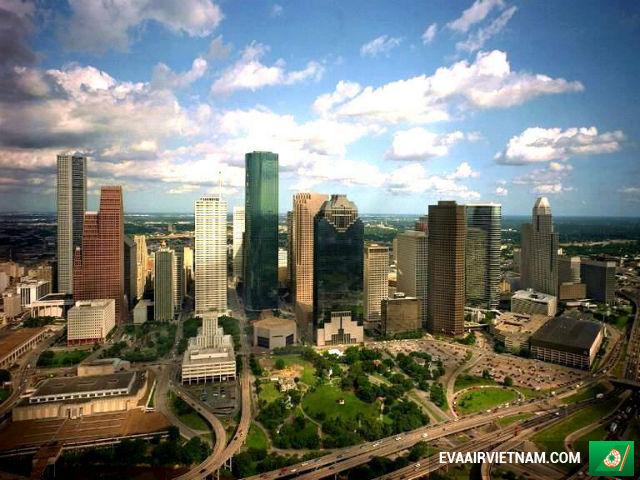 Vé máy bay đi Houston, Mỹ giá rẻ nhất