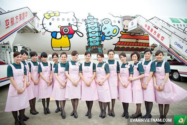 Đặt vé máy bay EVA Air tại Vietnam Booking
