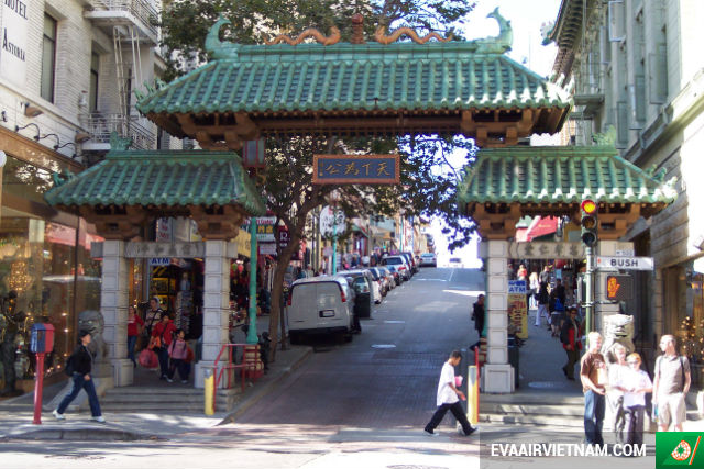 Đặt mua vé máy bay đi San Francisco tại Vietnam Booking