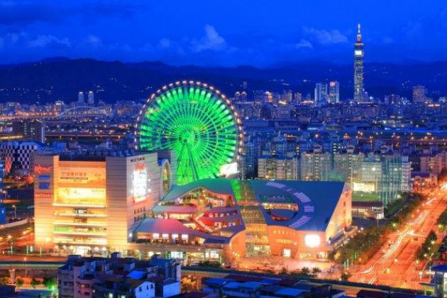 vé máy bay đi Đài Loan giá tốt