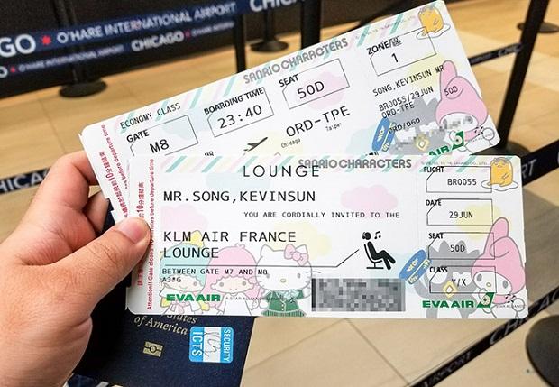 Mua vé máy bay Eva Air khứ hồi rẻ