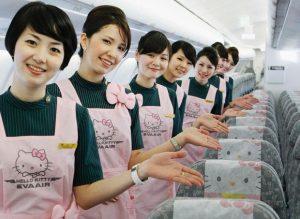 Tìm hiểu các hạng ghế ngồi của Eva Air