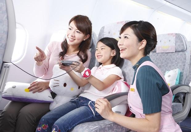 Các dịch vụ chất lượng của Eva Air