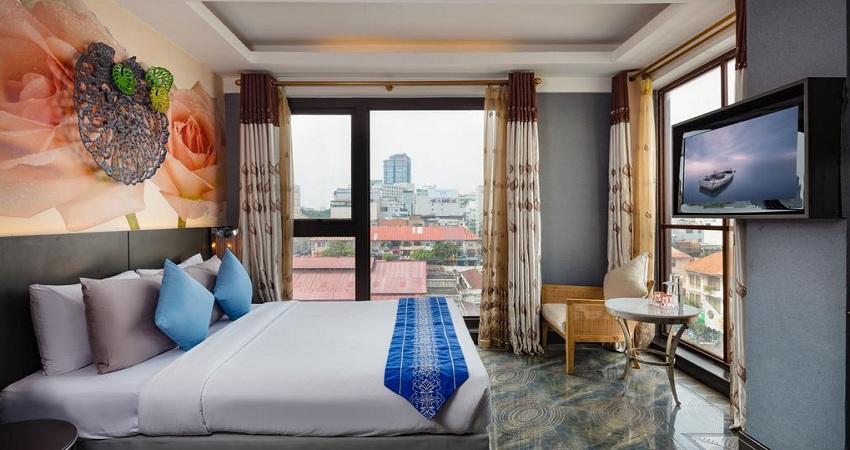 Review A&em Phan Boi Chau Hotel quận 1 chi tiết