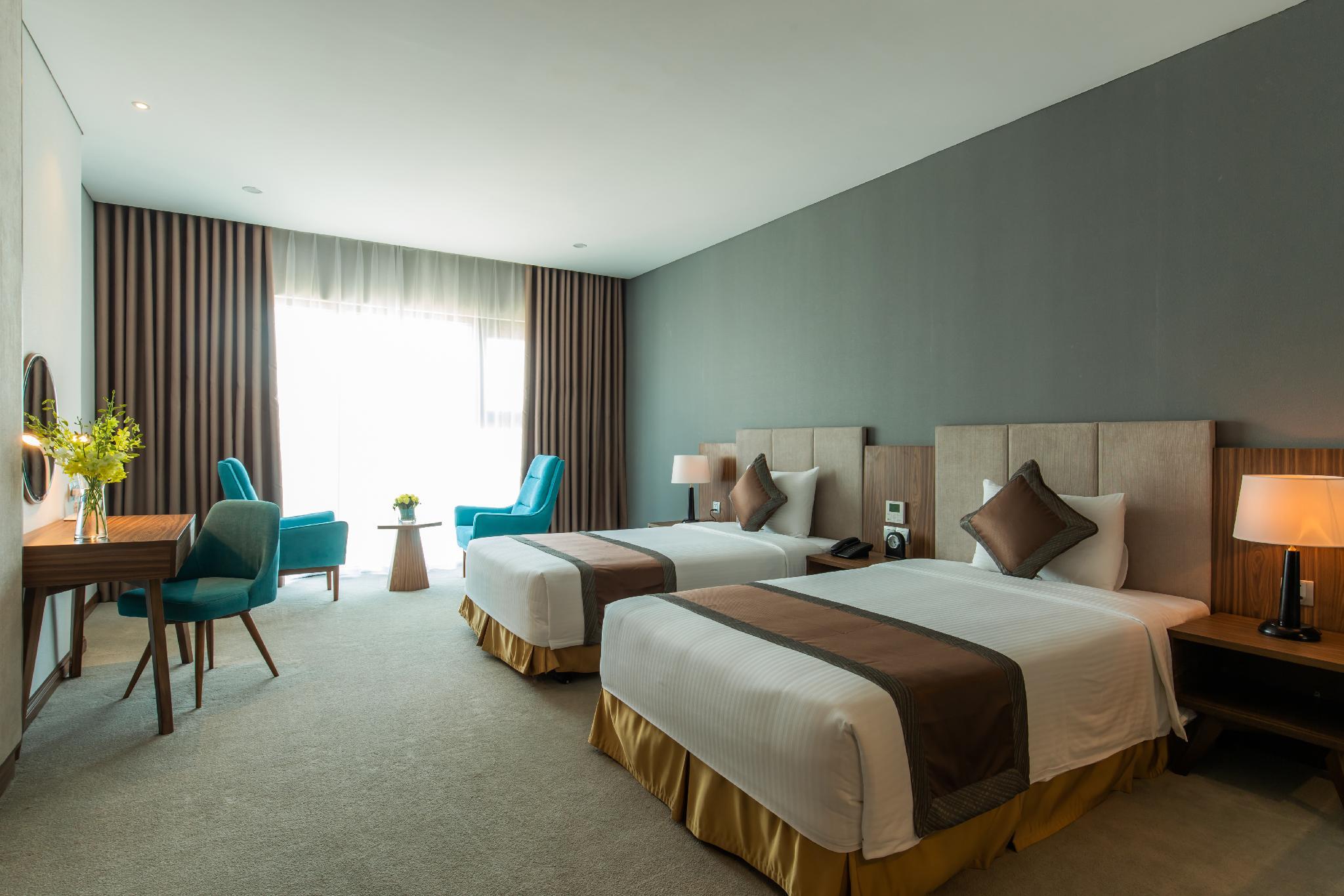 Phòng deluxe 2 người mường thanh luxury viễn triều nha trang