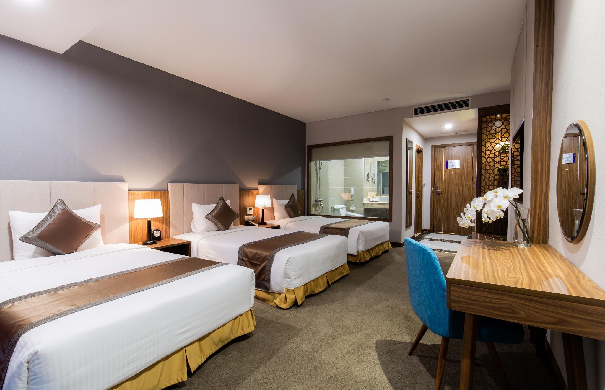 Phòng deluxe 3 người mường thanh luxury viễn triều nha trang