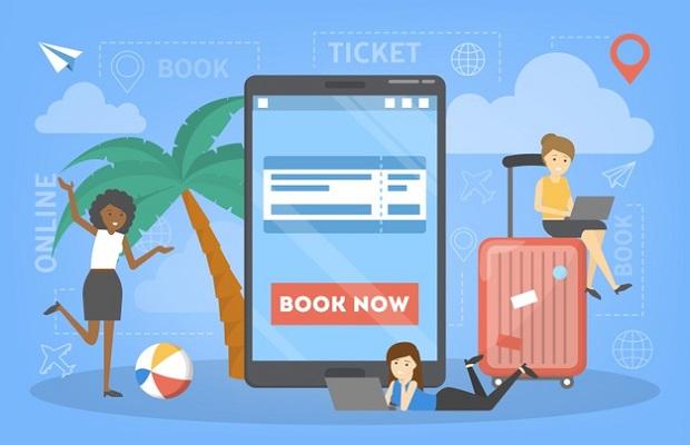 Lịch bay và thời gian bay là dự kiện bởi hãng hàng không khai thác