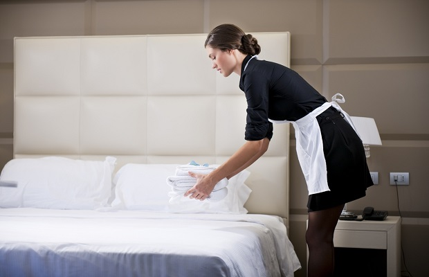 Cố gắng giảm thiểu và từ chối dịch vụ dọn phòng hàng ngày